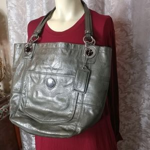 COACH Leather Large Tote